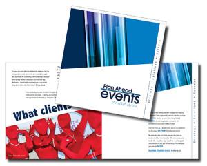 Plan Ahead Events: Franchise Brochure